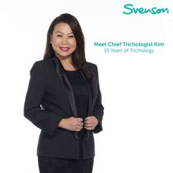 [Svenson] Say hello to our longest standing trichologist Kim Fong!