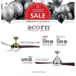 [SENSE AND BEDECK] Good news for you all, Acorn having their 5th anniversary celebrations sales.