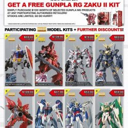 [HOBBY POINT] Bandai promotion.