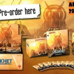 [Funco Gamez] Magic the Gathering: Amonkhet Preorders ~ ^_^ Release Date: 28th April 2017Products available: AKH Booster Box (English) - $125 Each AKH