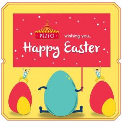 [Pezzo Pizza SG] Happy Easter from Team Pezzo!