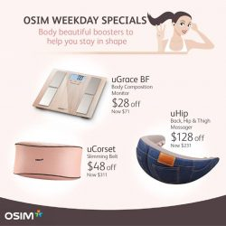 [OSIM] Do you want to be body-beautiful?