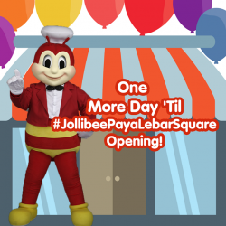 [Jollibee] One Day To Go!