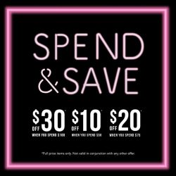 [colette by colette hayman] Spend & Save!