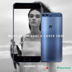 [HuaWei] Redefine modern portraiture with the new HuaweiP10Plus: featuring an 8-megapixel front camera & F1.