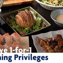 UOB Cards: Exclusive 1-for-1 JCB Dining Privileges
