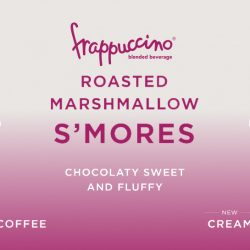 Starbucks: NEW Roasted Marshmallow S'mores Frappuccino