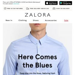 [Zalora] Attn: The Tuesday Blues are here!