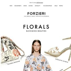 [Forzieri] Spring is Here and Your Wardrobe is in Bloom