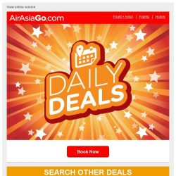 [AirAsiaGo] ☺ It's Fabulous Friday! - We picked these deals just for you ☺