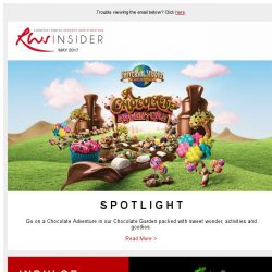 [Resorts World Sentosa] Go on a Chocolate Adventure and celebrate Mother's Day at Resorts World Sentosa