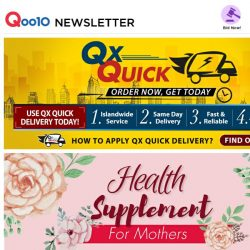 [Qoo10] [ QX Quick Special ]   Mother's Day Gifts Idea Send to you Today!