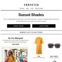 [Farfetch] How to wear this season's standout colours