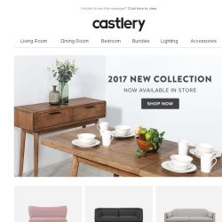 [Castlery] 10% OFF + FREE GIFT! 2 DAYS ONLY LAUNCH SPECIAL