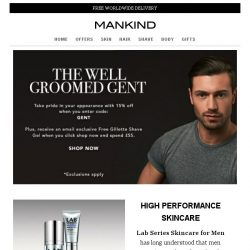 [Mankind] The Well Groomed Gent