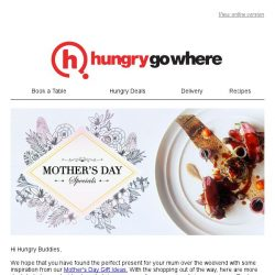 [HungryGoWhere] Pamper Mum With These Fabulous Mother's Day Dining Treats!