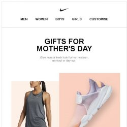 [Nike] Gifts She'll Love on Mother's Day