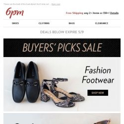 [6pm] Buyers' Picks Sale! Yes, please!