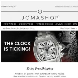 [Jomashop] You know you want it. Check out now