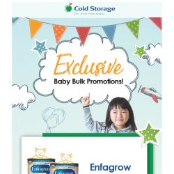 [Cold Storage] Exclusive bulk deals to make your toddler happy and help you save up  💰