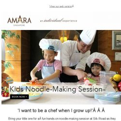 [Hotels.com] Noodle-Making Fun for Your Little One!