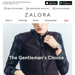 [Zalora] The Gentleman's Choice: Wardrobe Picks To Own At The Moment!