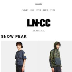 [LN-CC] Conscious Arrivals: Snow Peak / Rigards / Alexis Stephenson ceramics + SALE up to 50% off