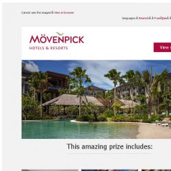 [Mövenpick Hotels & Resorts] ☀ Win a dream holiday in Bali!