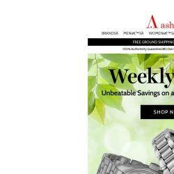 [Ashford] New Weekly Deals Are Here
