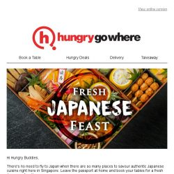 [HungryGoWhere] Feast Away with these Stellar Japanese Dining Deals!