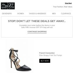 [Saks OFF 5th] Quick! Order now before your French Connection item sells out!