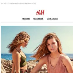 [H&M] It's official: summer has landed at hm.com!