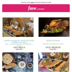 [Groupon] Fave brings you the Best Ramadan Deals!