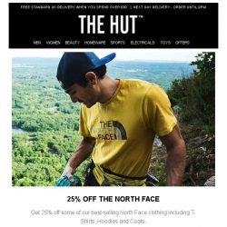 [The Hut] 25% off The North Face   3-Pack Bjorn Borg Boxers for £14.99 and more!