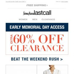 [Last Call] Already talking about Memorial Day deals?