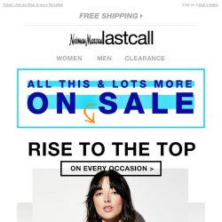 [Last Call] ALL ON SALE >> tops for every occasion