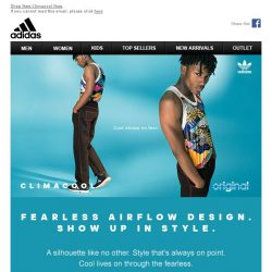 [Adidas] Cool Shows No Fear.