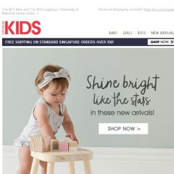 [Cotton On] Shine bright BABY! The cutest new arrivals are here