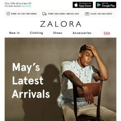 [Zalora] In With The NEW: May's Latest Arrivals Are Here!