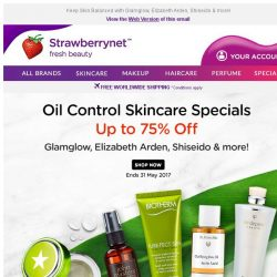 [StrawberryNet] Oil Control Specials Up to 75% Off!