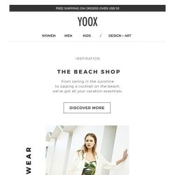 [Yoox] The Beach Shop: all your vacation essentials