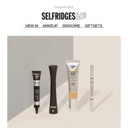 [Selfridges & Co] IT Cosmetics is here!