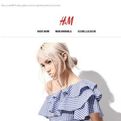 [H&M] Find out what's trending this summer