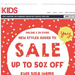 [Cotton On] YAY: new SALE styles added!