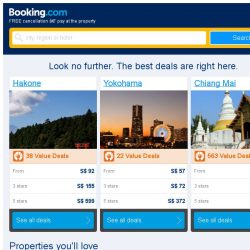 [Booking.com] Deals in Hakone from S$ 92