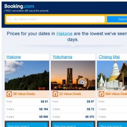 [Booking.com] Prices in Hakone dropped again – act now and save more!