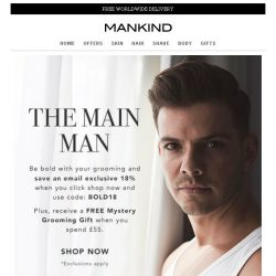 [Mankind] The Main Man - 18% off + Free Mystery Gift