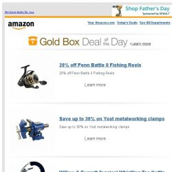 [Amazon] 20% off Penn Battle II Fishing Reels