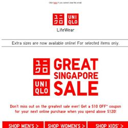 [UNIQLO Singapore] Rock your day with these!