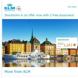 [KLM] Are you ready to start planning your trip to Stockholm?
